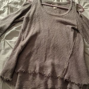 Cold Shoulder Fall Kaisley Sweater